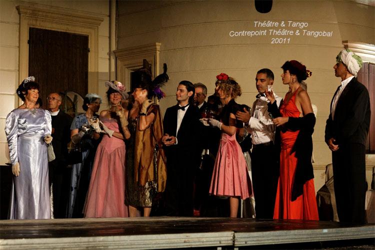 Théâtre & Tango - Tangobal avec le Contre-Point-Théâtre