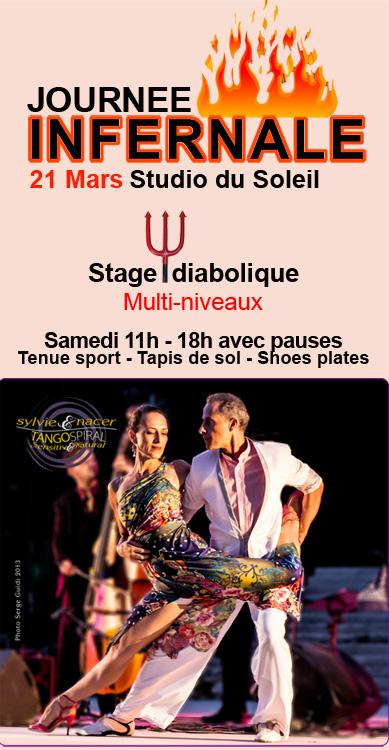 Stage Tango - Sylvie & Nacer