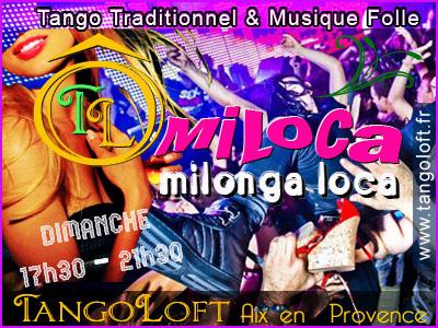 Milonga à Aix en Provence